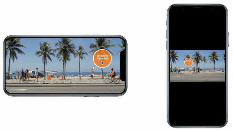 Make videos with a resolution of 1080x1080