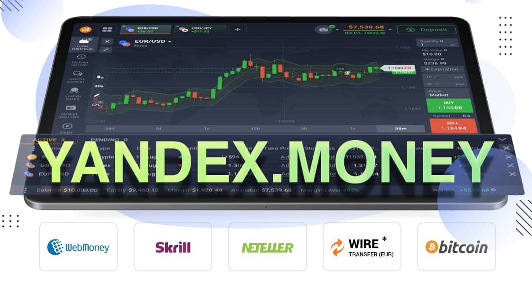 End of support for Yandex.Money on IQOption